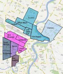 winnipeg map winnipeg municipal relations province of manitoba