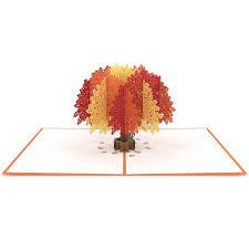 pop up tree oak tree lovepop