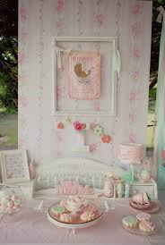shabby chic baby shower shabby chic pink and mint baby shower party planning ideas