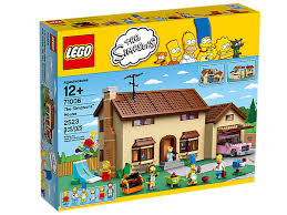 full size lego house the simpsons house 71006 the simpsons lego shop
