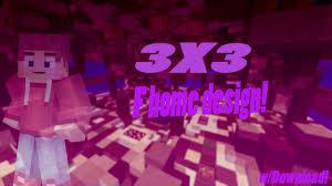 minecraft 3x3 f home design w download youtube