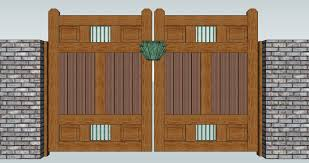 Styles Of Houses To Build Gate Wooden Gate Designs Fence Gate Design Ideas 5ft Wooden Gate