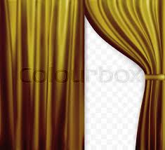 Gold Color Curtains Naturalistic Image Of Curtain Open Curtains Gold Color On