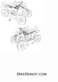 1997 polaris 500 scrambler 4x4 w97bc50a decals scrambler 500