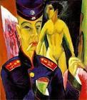 Ernst-Ludwig-Kirchner-Self- - Ernst-Ludwig-Kirchner-Self-Portrait-as-a-Soldier