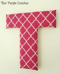 diy fabric covered letters two purple couches