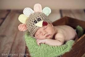 newborn turkey hat thanksgiving baby hat newborn by bitowhim