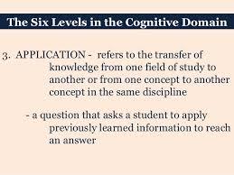 3 cognitive targets