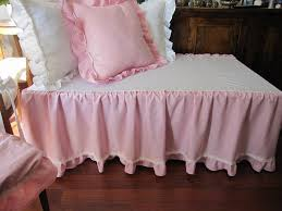 Baby Crib Bed Skirt Pink Crib Bed Skirt Tiered Dust Ruffle Baby Boy