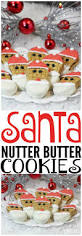 santa nutter butter cookies simplistically living
