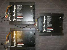 old rockford fosgate punch 800a4 amplifier rockford