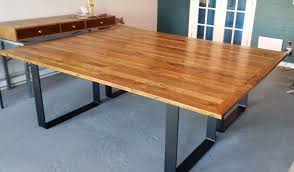 Narrow Conference Table Custom Made Nyc Conference Room Table By Blue Marlin Home