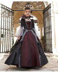Girls Vampire Halloween Costume Vampiress Versailles Girls Costume Monster Party