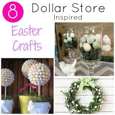 8 dollar store easter crafts for decorating your home
