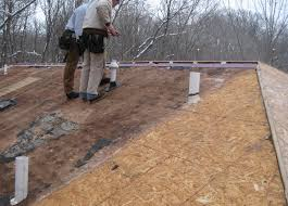 Tongue And Groove Roof Sheathing by Roof Decking Roof Decking Profile Get Best Quote Gaf Roofing