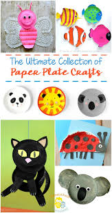 ultimate collection of paper plate crafts for kids homeschool