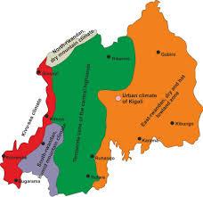 Rwanda World Map by Does The Global Warming Modify The Local Rwandan Climate