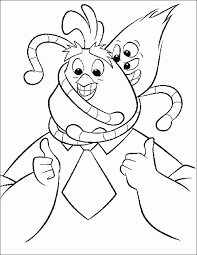 cartoon pictures chicken coloring
