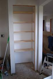 Wooden Shelves Diy by Best 25 Building Shelves Ideas On Pinterest Shelving Ideas
