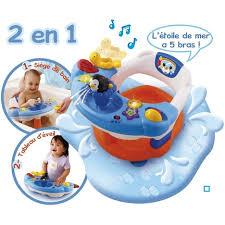 siege bain bebe carrefour siège de bain interactif 2 en 1 dès 6 mois vtech pas cher à prix