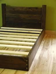 Low Profile Platform Bed Frame Best 25 Low Platform Bed Frame Ideas On Pinterest Solid Wood