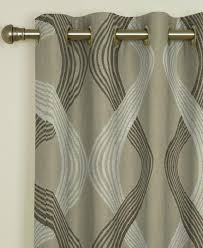 brown curtains abstract made to measure piper taupe curtains