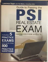guide to passing psi real updated consulting editor lawrence