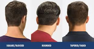 the best neckline haircuts blocked rounded tapered men s