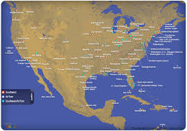 swa route map south airlines route map southwest airlines