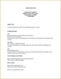 Best One Page Resume Template Resume Template 1 Page Single Templatewoduckdnsorg Regarding 81