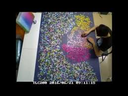 Cmyk Color Spectrum Puzzle Clemens Habicht U0027s 5000 Colors Puzzle Time Lapse 5000片色階拼圖縮時