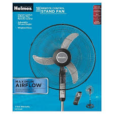 kenmore 18 inch stand fan with remote 12283403 holmes 18 stand fan with remote control oscillating