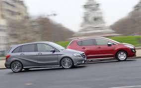 Comparatif Si E Auto B Essai Comparatif Mercedes Classe B Contre Peugeot 3008 L