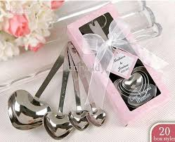 wedding gift singapore wholesale stainless steel heart measuring spoons in gift box set
