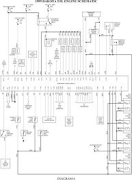 dakota engine diagram 1997 wiring diagrams instruction