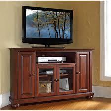 antique corner tv cabinet crosley furniture alexandria 48 corner tv stand vintage mahogany