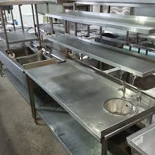 used stainless steel tables for sale used stainless steel table sink double gantry 165cmw x 66cmd x