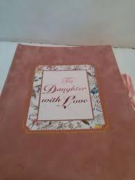 Mother Daughter Keepsakes Scrapbook Keepsake Book Photo Album Mother To Daughter Vintage