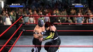 smackdown vs raw 2008 rey mysterio vs jeff hardy youtube