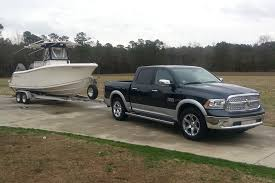 Dodge Ram Ecodiesel - first fishing trip towing with my ecodiesel