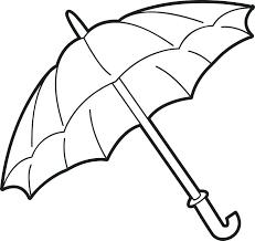 large umbrella coloring page raindrop printable forka info