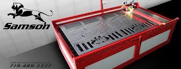 used plasma cutting table large plasma cutter machine used to cut huge metal eagle