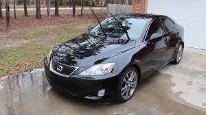 lexus is250 wiper recall diy second gen lexus is windshield molding replacement youtube