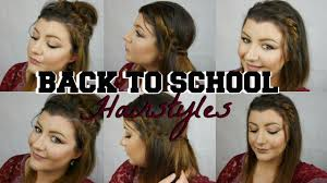 heatless hairstyles for thin hair easy back to school hairstyles for short thin hair nadia kour