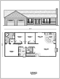 Unique Floor Plans For Homes by Ranch Home Floor Plans Floor Plan Ranch Style House Ranch House