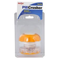Meijer Home Decor Meijer Pill Crusher 1 Ct Meijer Com