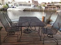 Steel Patio Furniture Sets by Steel Mesh Patio Table Home Design Ideas And Pictures