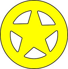 star sheriff badges clip art library