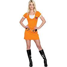 Halloween Costume Prisoner Amazon Convict Cutie Women U0027s Prisoner Halloween Costume
