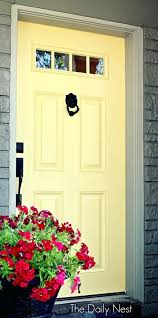 paint colors front doors red brick houses yellow door photos stock